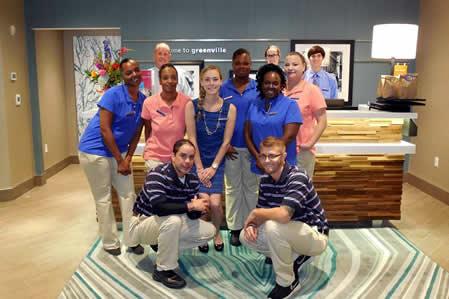 Hampton Inn Opening Front Desk